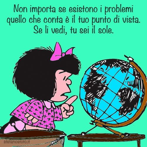 Mafalda e il punto di vista