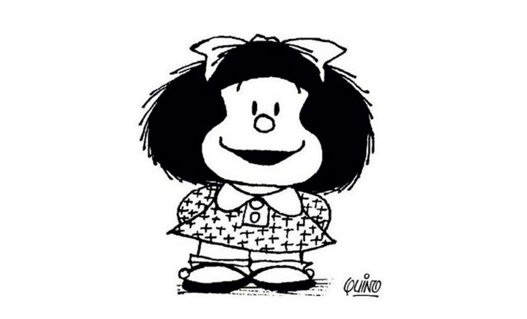 Mafalda con Stefano Stoto