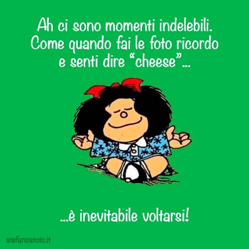 Mafalda e i momenti indelebili