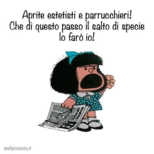 Mafalda e il salto di specie