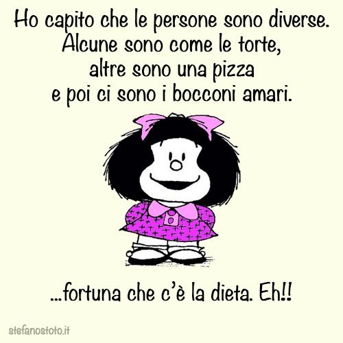 Mafalda, le persone sono diverse